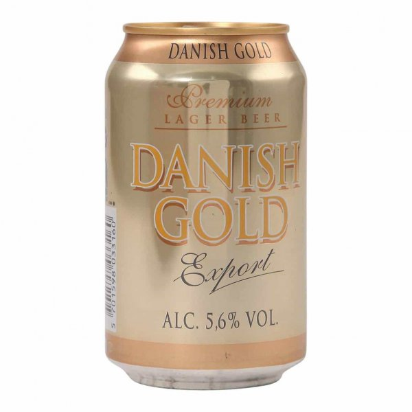 1 X Danish Gold Export 5,6% 24x0,33l ds