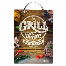 1 X Grill Wine Smooth Red 3L BIB