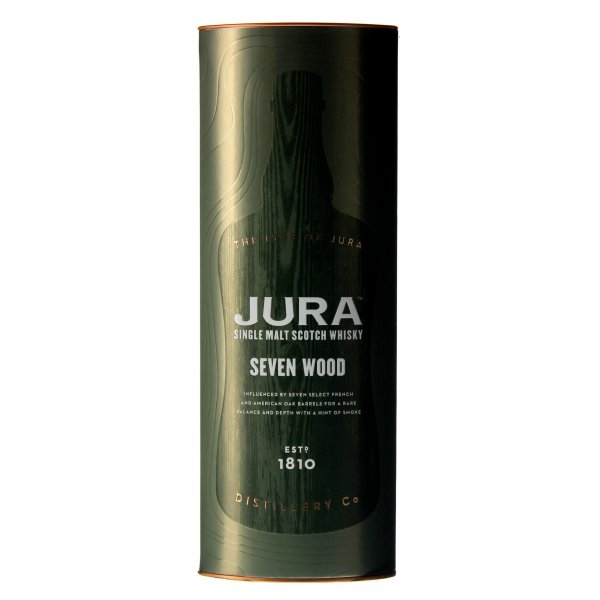 1 X Jura Seven Wood Single Malt 0,7L 42%