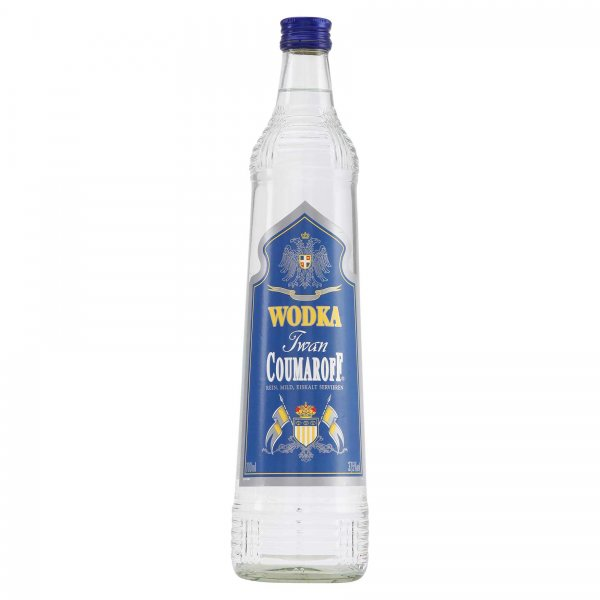 1 X SPECIALS Coumaroff Vodka 0,7L 37,5%
