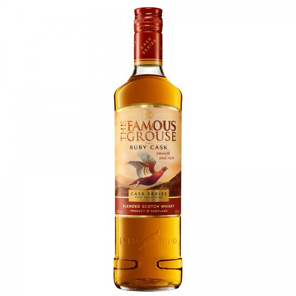 1 X The Famous Grouse Ruby Cask 40% 1L