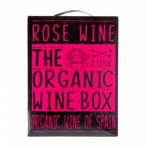 1 X The Organic Wine Box Rose 3L BIB BIO