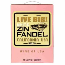 1 X Think Big, Live Big Zinfandel Rose 3L BIB
