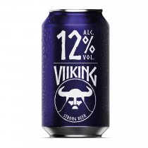 1 X Viiking Strong Beer 12% 24x0,33l