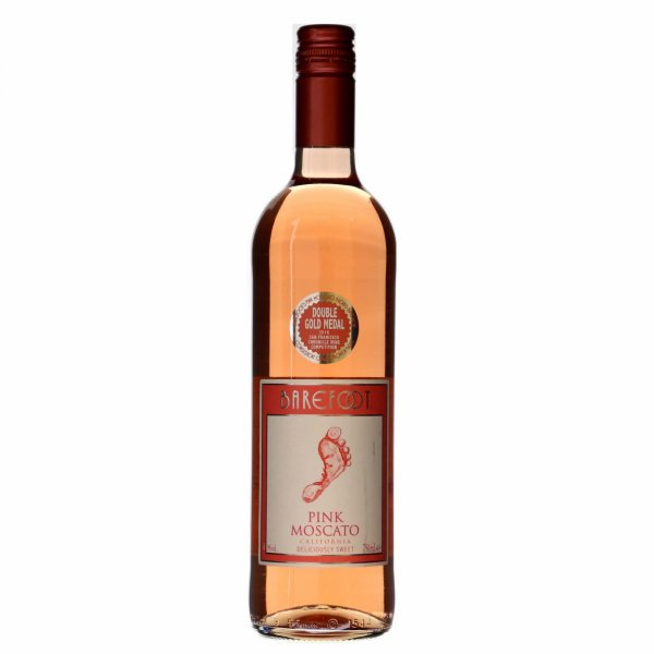 6 X Barefoot Pink Moscato 0,75L