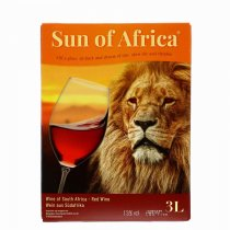 1 X Sun of Africa Cape Red 3l BIB