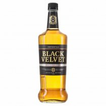 1 X Black Velvet Canadian Whisky 40% 1l