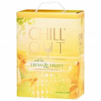 1 X Chill Out Fresh and Fruity Chardonnay 3l BIB