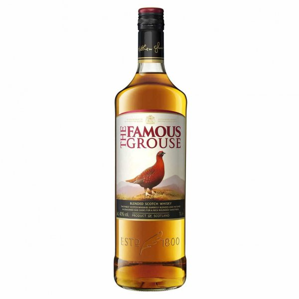 1 X Famous Grouse Whisky 40% 1l