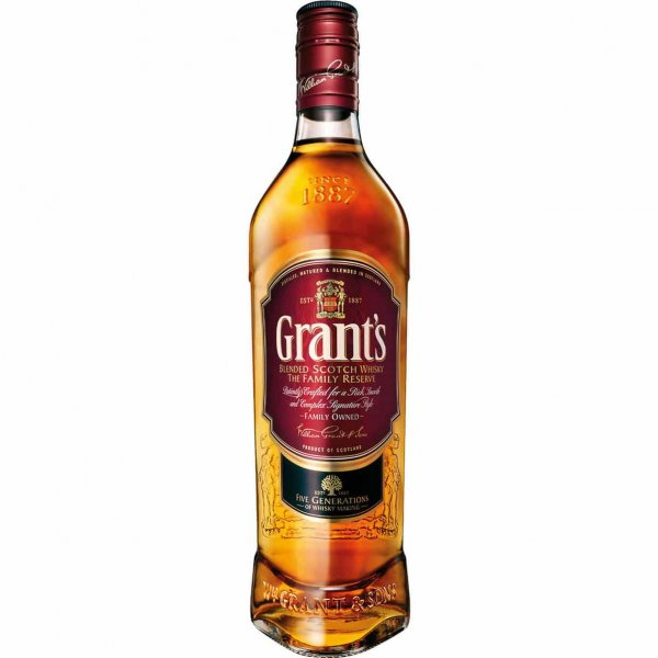 1 X Grants Finest Whisky 40% 1l