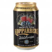 1 X Kopparberg Cider Wildberry 4,5% 24x0,33l