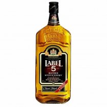 1 X Label 5 whisky 40% 1l