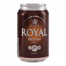 1 X Royal Brown Ale 4,6% 24x33cl